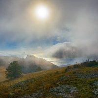 Туман на Южном Демерджи :: Сергей Радин