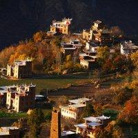 Данбар,тибетскийдеревни :: chinaguide Ся