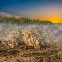 туманное утро :: Константин Федоров