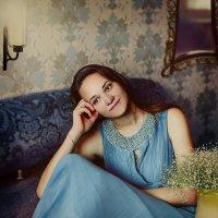Голубое платье и мечты :: Olga Zhukova