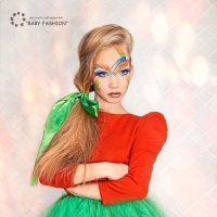 Проект куклы - Арлекино :: Юлия Дмитриева