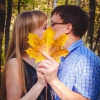 Осенный поцелуй :: Валерия Дроздова