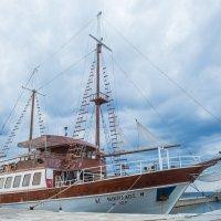 корабль в Неос Мармарасе :: Диана Матисоне
