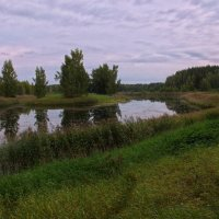 Осенний пруд :: Владимир Мельников
