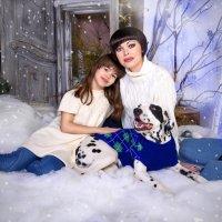 Новогодняя сказка Галины, Полины и Лоры! :: Юлия Романенко