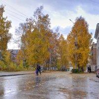 Осень. Октябрьская ул :: Александр