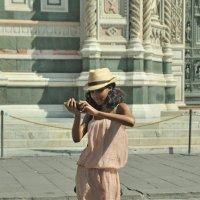 Селфи на фоне вечности. Флоренция. :: Юрий Воронов