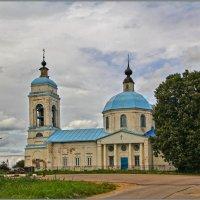 Церковь Иконы Божией Матери Тихвинская в Выпуково :: Дмитрий Анцыферов