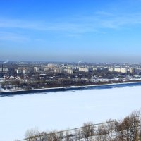 Зима на Оке :: Владимир Андреевич Ульянов