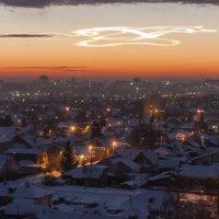 Загадочное явление в небе над Барнаулом :: Александр Скалозубов