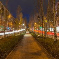 Вечерний бульвар :: Андрей Нибылица