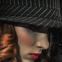 Portrait of a girl in a hat. :: krivitskiy Кривицкий