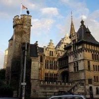 Замок Стен – крепость XIII века. Внутренние башни замка :: Елена Павлова (Смолова)