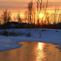 Золото заката :: Евгений Юрков