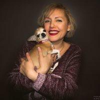 Дама с собачкой :: Ольга Назаренко