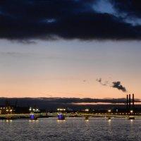СПб. Панорама в сторону Благовещенского моста :: genar-58 '