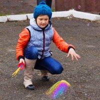 Мыльный пузырь. :: Алексей Golovchenko