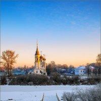 Зимний рассвет... :: Александр Никитинский