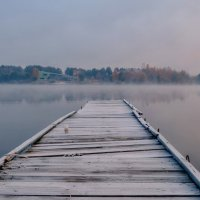 Там, где кончается осень... :: Валентина Данилова