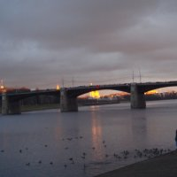 закат на Волге :: helga 2015