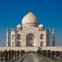 Индия.Мавзолей Тадж- Махал :: юрий макаров