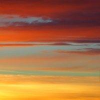 Небесный пейзаж. Декабрь 2015 г. :: Константин Фролов
