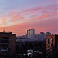 Город. Время заката. :: Александр Орлов