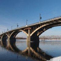 Мост через Ангару в Иркутске... :: Александр Попов
