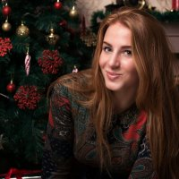 Новогодний портрет :: Никита Никитенко