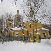 Желтый храм в Новоспасском монастыре :: Дмитрий Никитин