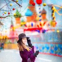 Москва новогодяя :: Ольга Челышева
