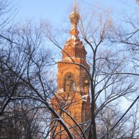 Головино. Колокольня Казанского Головинского монастыря :: Дмитрий Никитин