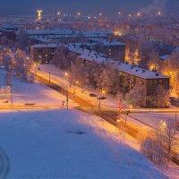 утро в городе... :: Алексей Белик