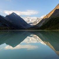 Классический вид на озеро Аккем :: Дмитрий Доронин