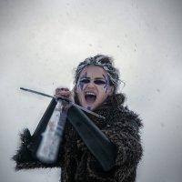 Девушка-воин :: Алексей Дмитриев