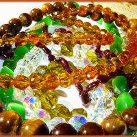 Мир камня - ожерелья :: Андрей Заломленков