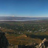 Вид на Кавказский хребет с вершины г.Шелудивая :: Игорь Овсянников