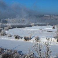 Морозный ноябрь на Ангаре... :: Александр Попов