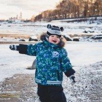 Вот она, настоящая зима! :: Александр Ребров