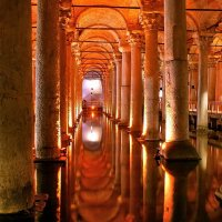 Цистерна Базилика в Константинополе :: Денис Кораблёв