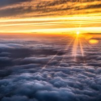 между небом и небом :: Андриенко Юля