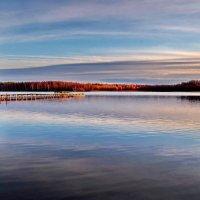 Даниковское озеро.Вечер :: Валерий Талашов