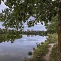 Летний вечер на Дону с видом на Нововоронеж :: Юрий Клишин