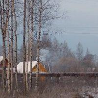 Газопровод на краю  деревни :: Фотогруппа Весна.