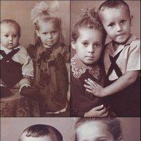 Жили-были братик и сестричка... 1960-1965 г. :: Нина Корешкова