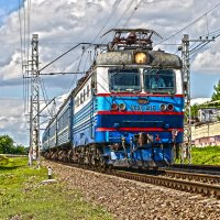 Электровоз ЧС2К-815 :: Денис Змеев