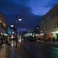 Огни ночного города, Москва, Пятницкая улица. :: Виктор М