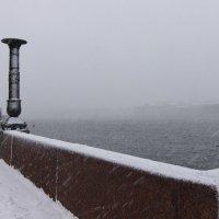 За пеленой снега :: Вера Моисеева