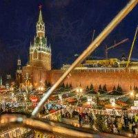 Над вечернею Москвой мы летим на карусели против стрелки часовой :: Ирина Данилова