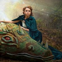 Девушка и Дракон :: Ольга Круковская